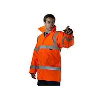 High Visability Fluorescent Orange Jacket CTJENGOR